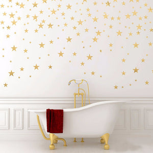 130 STARS WALL STICKERS