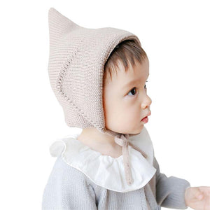 BEIGE LEPRECHAUN BABY HAT 0-2 Years