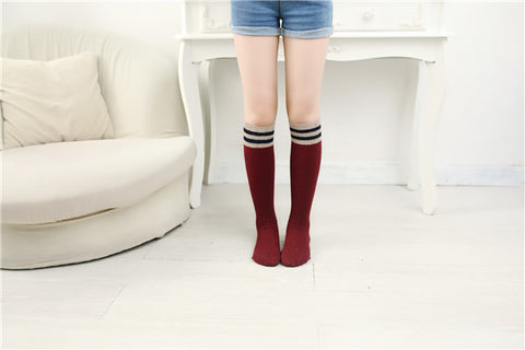 BICOLORS HIGH SOCKS 1-10 yrs