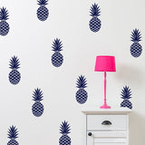 12 PINEAPLE STICKERS