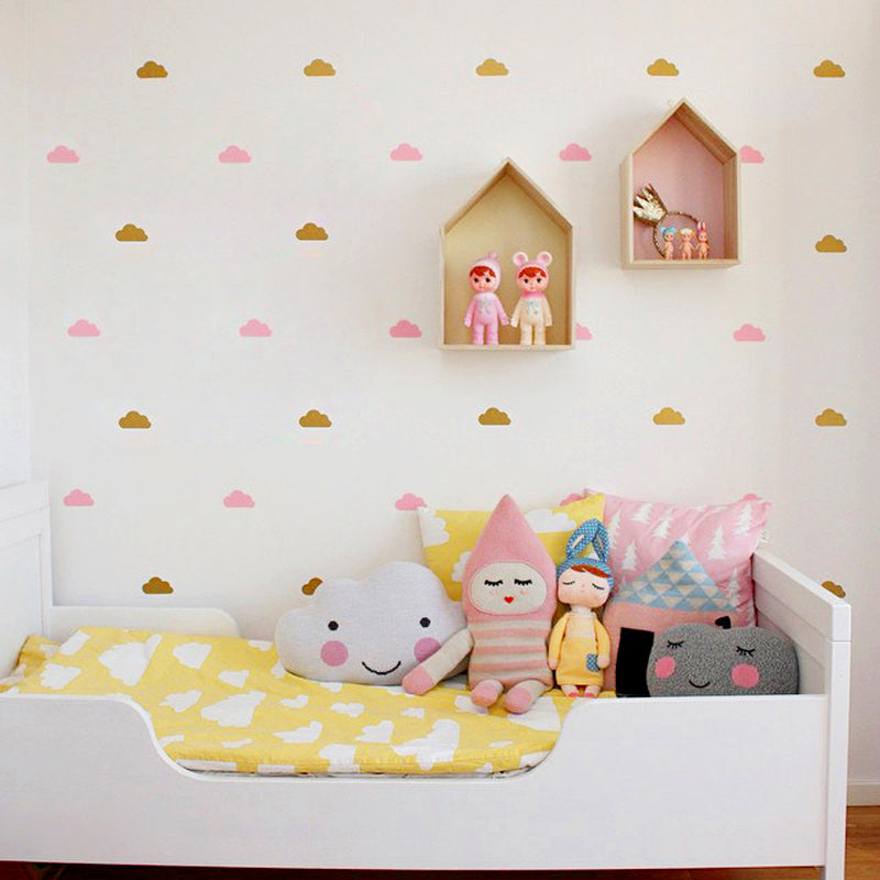 LITTLE CLOUDS WALL STICKERS