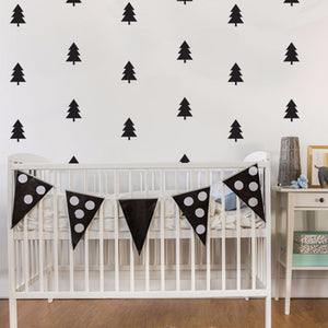 50 WALL STICKERS CHRISTMAS TREE