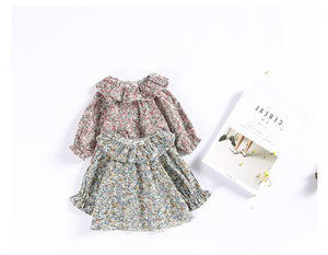 FLOWER BABY GIRL BLOUSE