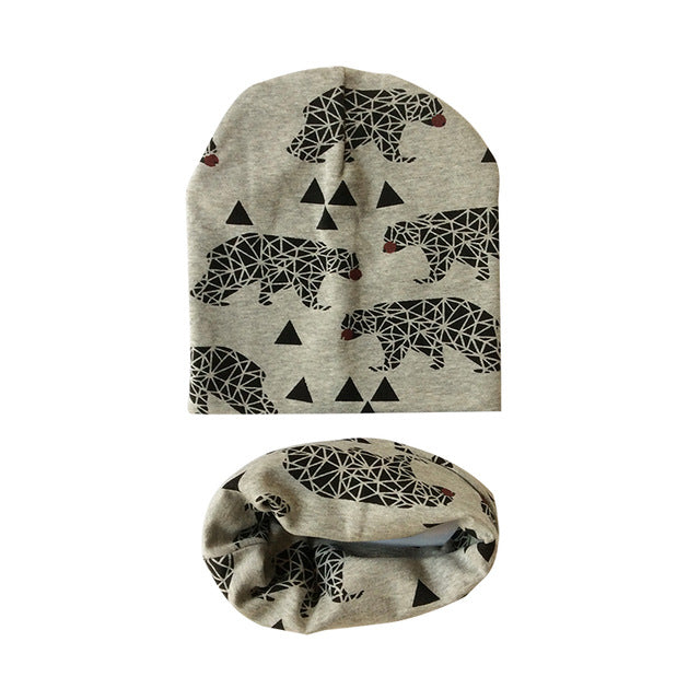 SET BABY HAT & SCARF 1-3 years old