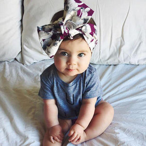 FLORAL GIRL TURBAN HAIRBAND