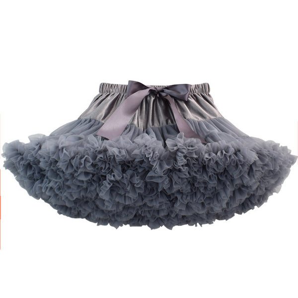DARK GREY DOUBLE LAYER TUTU