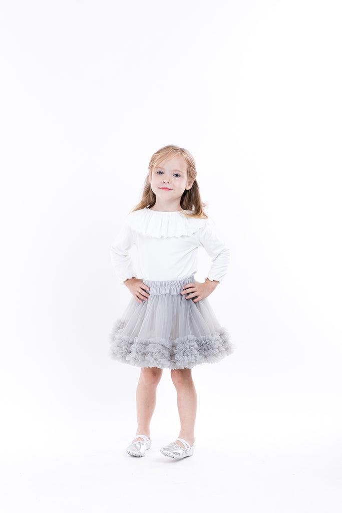 FLUFFY CHIFFON  TUTU SKIRT  2-8 Years