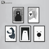 POLAR BEAR WALL ART