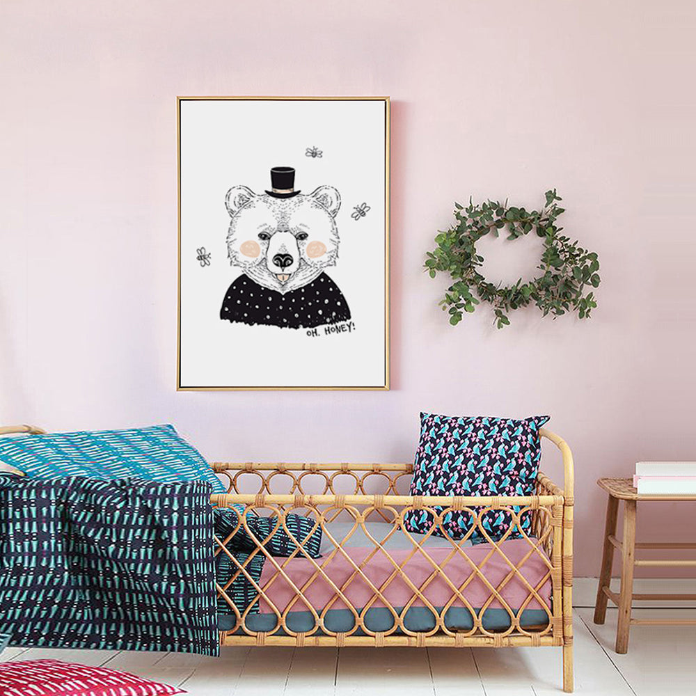 SCANDI ILLUSTRATIONS WALL ART