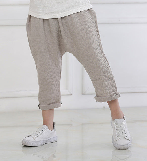 STYLISH HAREM PANTS UNISEX 1-6 YEARS OLD