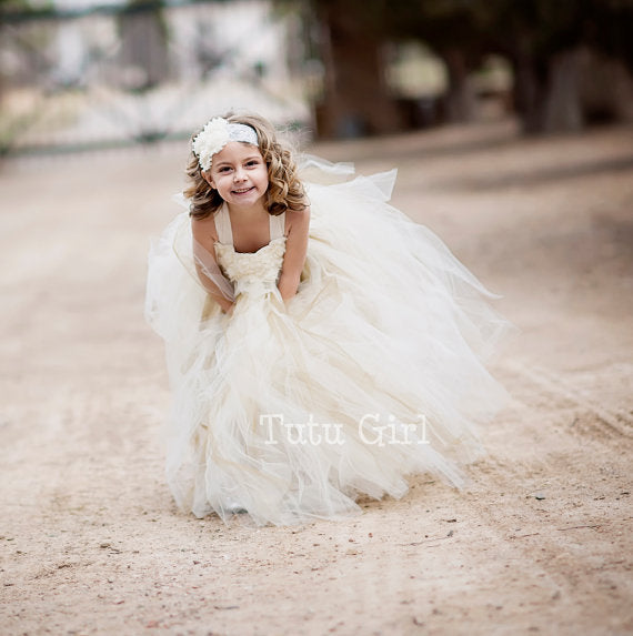 TUTU DRESS GIRL BALL GOWN