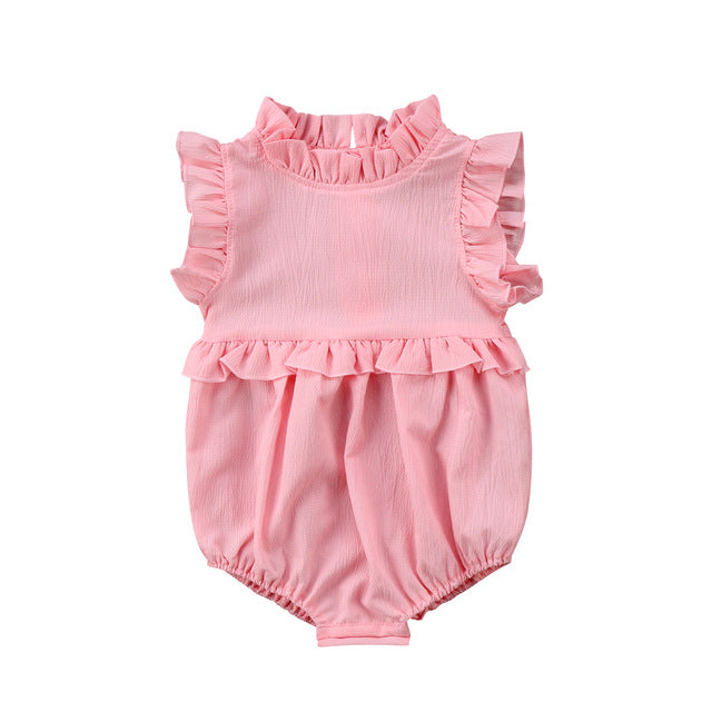 RUFFLE SUMMER BABY GIRL PLAYSUIT