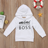 MINI BOSS CASUAL UNISEX HOODIE SWEATSHIRT