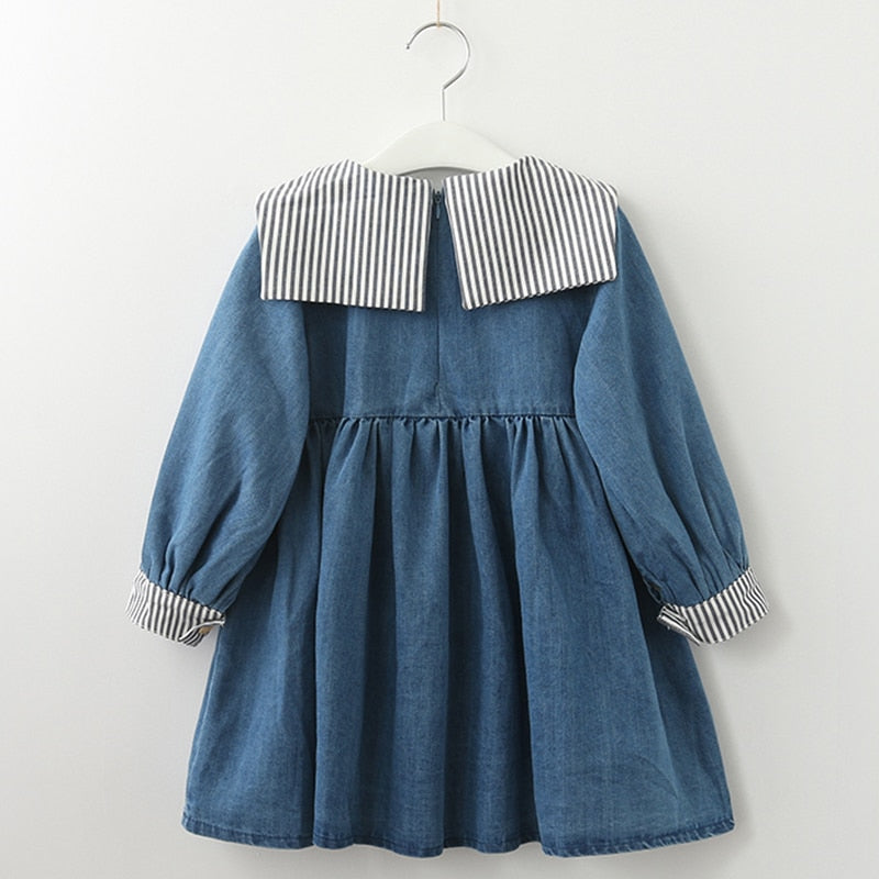 DENIM MARINE DRESS