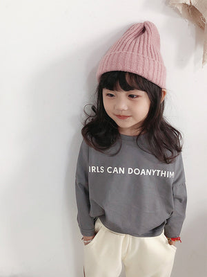 KOREAN GIRLS CAN DO TEE SHIRT