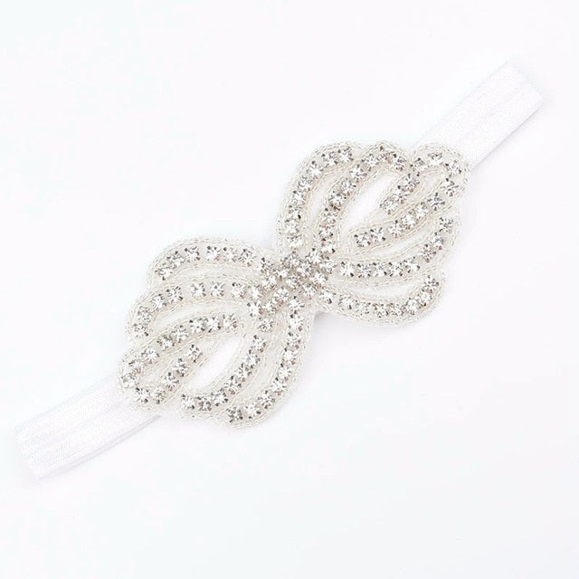 CRYSTAL BOW PARTY HAIRBAND