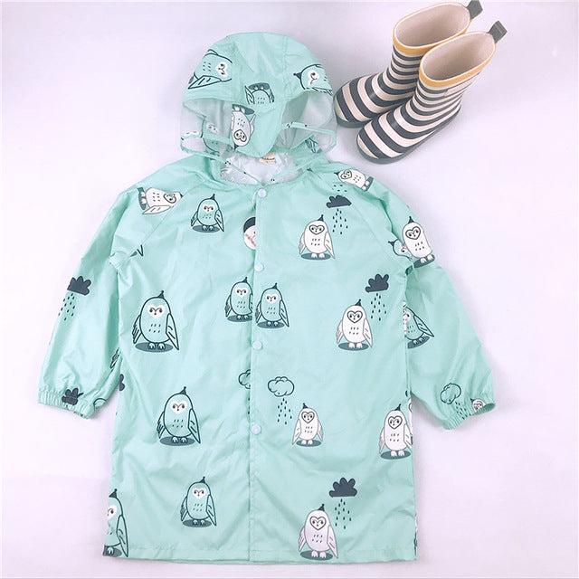 FUN PASTEL RAINCOAT