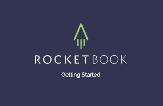 Setting Up Your Rocketbook App - A Quickstart Guide