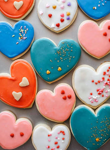Valentine Cookie Day February 8th,2020