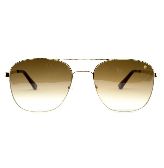 Nelson Sunglasses in Gold