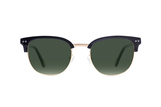 Hudson Sunglasses in Black