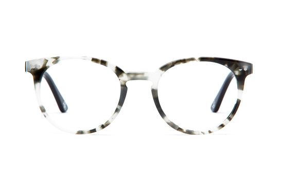 Oxford in gray tortoise