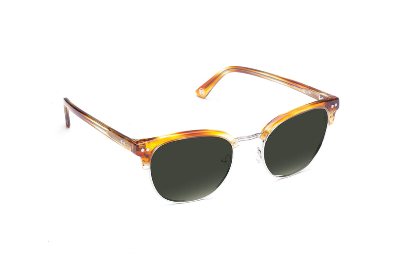 Hudson Sunglasses in Honey Oak