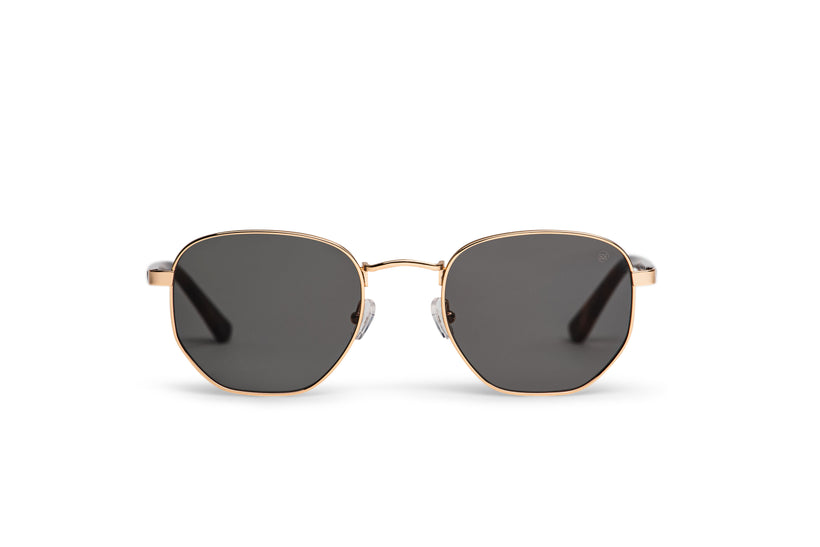 Yonge Sunglasses in Gold