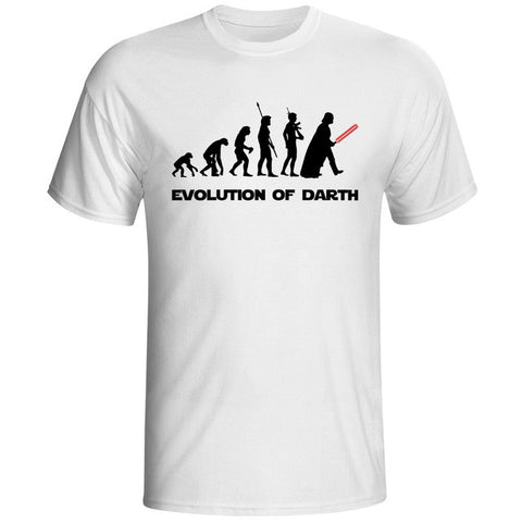 Evolution Of Darth Tee