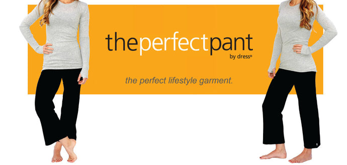 THE BEGINNINGS OF THE PERFECT PANT