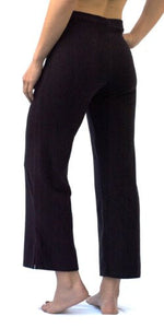 The Perfect Cropped Maternity Pant in Black