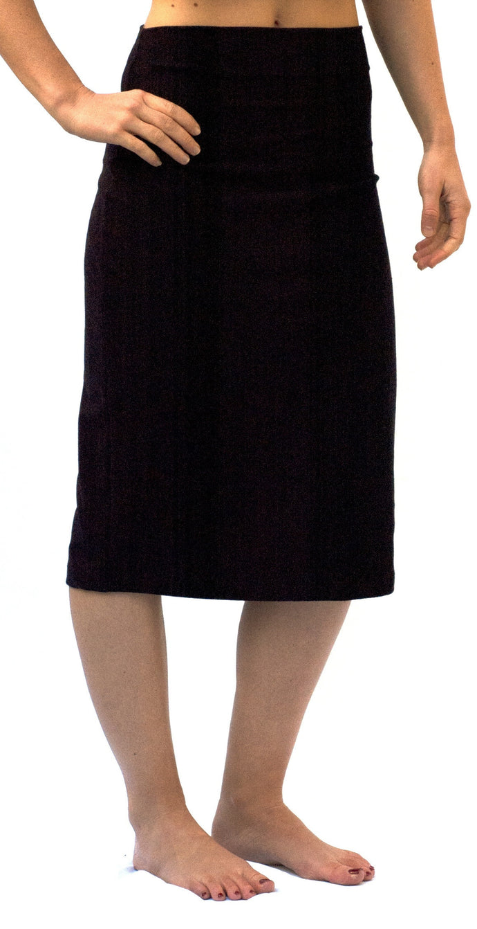 The Perfect Maternity Skirt in Black