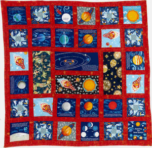 Ann Stefany's Outerspace Quilt