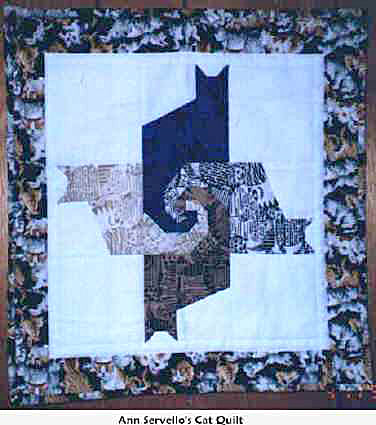 Anne Servello's Jacket's and Quilts