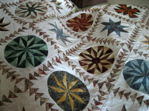 Patricia White's Mariner's Compass Quilt