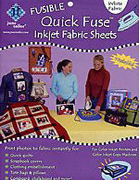 June Tailor's Quick Fuse Inkjet Fabric Sheets 8 1/2 x 11