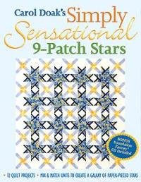 Carol Doak's Simply Sensational 9-Patch Stars