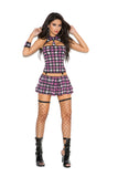 Naughty School Girl - 4 pc. costume