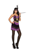 Foxy Flapper  - 3 pc. costume includes dress, headband and necklace.