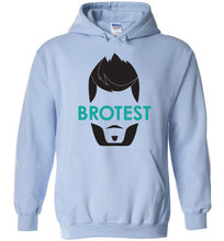 Light Blue Brotest Pull Over Hoodie