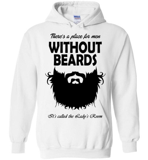 Without Beards Hoodie