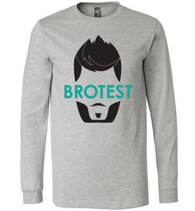 Athletic Heather Brotest Long Sleeve Shirt