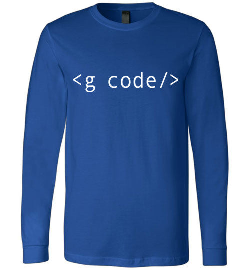 True Royal G-Code Long Sleeve Shirt