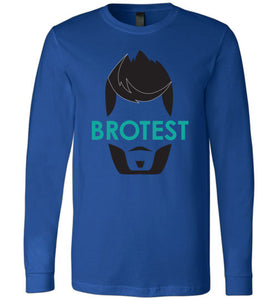 True Royal Brotest Long Sleeve Shirt