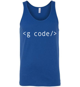 True Royal G-Code Tank Top