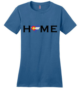HOME Heart Colorado - Ladies Perfect Weight Tee