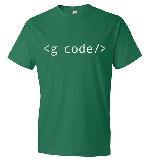 Kelly Green G-Code T-Shirt