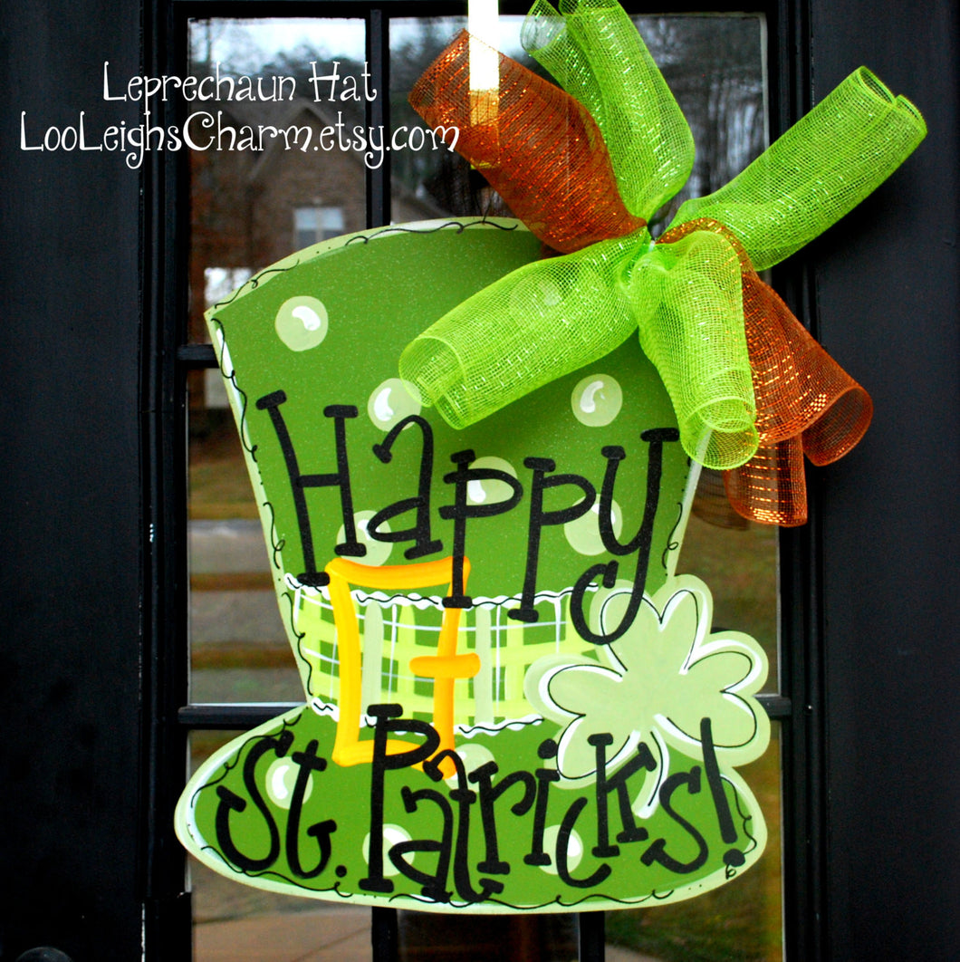 St Patricks Day Door Hanger | St Patricks Day Decorations