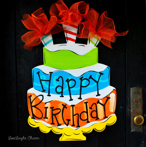 The Birthday Door Hanger Collection Tagged Happy Sign