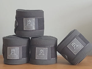 Fleece Bandages - Grey